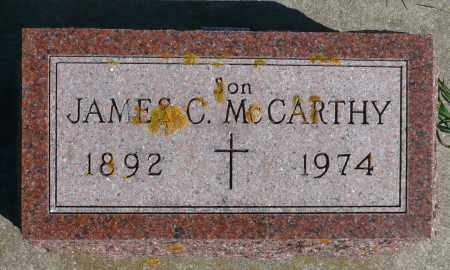 MCCARTHY, JAMES C. - Minnehaha County, South Dakota   JAMES C. MCCARTHY - South Dakota Gravestone Photos