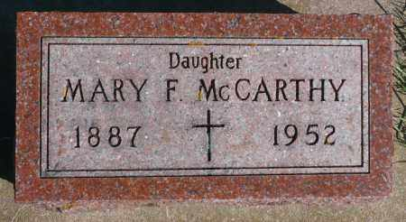 MCCARTHY, MARY F. - Minnehaha County, South Dakota | MARY F. MCCARTHY - South Dakota Gravestone Photos
