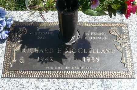 MCCLELLAND, RICHARD F. - Minnehaha County, South Dakota | RICHARD F. MCCLELLAND - South Dakota Gravestone Photos
