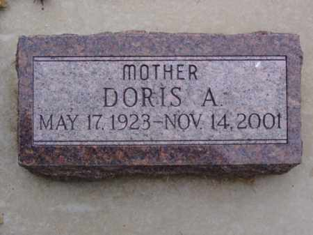 MCCLURE, DORIS A. - Minnehaha County, South Dakota | DORIS A. MCCLURE - South Dakota Gravestone Photos