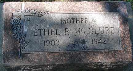 MCCLURE, ETHEL P. - Minnehaha County, South Dakota | ETHEL P. MCCLURE - South Dakota Gravestone Photos