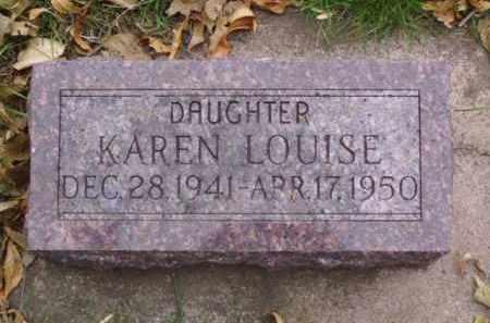 MCCLURE, KAREN LOUISE - Minnehaha County, South Dakota | KAREN LOUISE MCCLURE - South Dakota Gravestone Photos