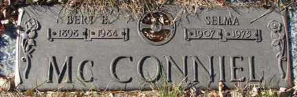MCCONNIEL, BERT E. - Minnehaha County, South Dakota | BERT E. MCCONNIEL - South Dakota Gravestone Photos