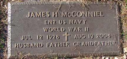 MCCONNIEL, JAMES H. (WWII) - Minnehaha County, South Dakota | JAMES H. (WWII) MCCONNIEL - South Dakota Gravestone Photos