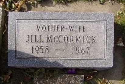 MCCORMICK, JILL - Minnehaha County, South Dakota | JILL MCCORMICK - South Dakota Gravestone Photos