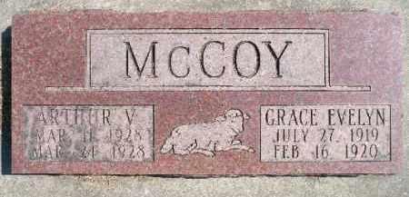 MCCOY, GRACE EVELYN - Minnehaha County, South Dakota | GRACE EVELYN MCCOY - South Dakota Gravestone Photos