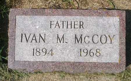 MCCOY, IVAN M. - Minnehaha County, South Dakota | IVAN M. MCCOY - South Dakota Gravestone Photos