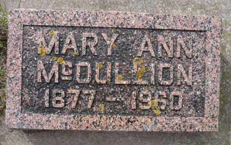 MCCULLION, MARY ANN - Minnehaha County, South Dakota | MARY ANN MCCULLION - South Dakota Gravestone Photos