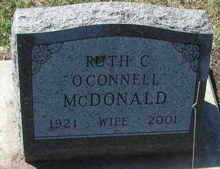 MCDONALD, RUTH C. - Minnehaha County, South Dakota | RUTH C. MCDONALD - South Dakota Gravestone Photos
