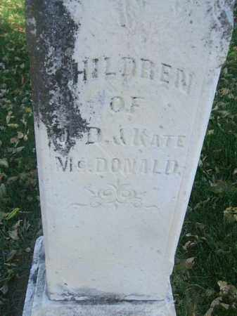 MCDONALD, WILLIAM AND ISABELLA - Minnehaha County, South Dakota | WILLIAM AND ISABELLA MCDONALD - South Dakota Gravestone Photos