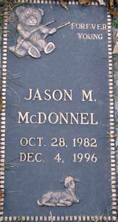 MCDONNEL, JASON M. - Minnehaha County, South Dakota   JASON M. MCDONNEL - South Dakota Gravestone Photos