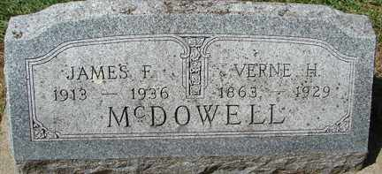 MCDOWELL, JAMES F. - Minnehaha County, South Dakota | JAMES F. MCDOWELL - South Dakota Gravestone Photos