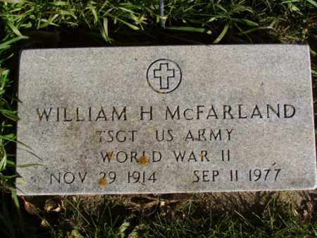 MCFARLAND, WILLIAM H. - Minnehaha County, South Dakota | WILLIAM H. MCFARLAND - South Dakota Gravestone Photos