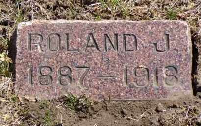 MCFARLIN, ROLAND J. - Minnehaha County, South Dakota | ROLAND J. MCFARLIN - South Dakota Gravestone Photos