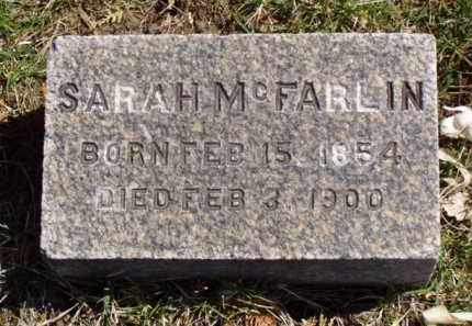 MCFARLIN, SARAH - Minnehaha County, South Dakota | SARAH MCFARLIN - South Dakota Gravestone Photos
