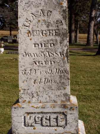 MCGEE, ISAAC J. - Minnehaha County, South Dakota | ISAAC J. MCGEE - South Dakota Gravestone Photos