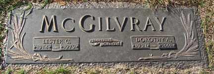 MCGILVRAY, LESTER C. - Minnehaha County, South Dakota | LESTER C. MCGILVRAY - South Dakota Gravestone Photos