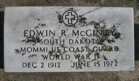 MCGINTY, EDWIN R. (WWII) - Minnehaha County, South Dakota | EDWIN R. (WWII) MCGINTY - South Dakota Gravestone Photos