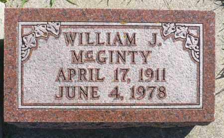 MCGINTY, WILLIAM J. - Minnehaha County, South Dakota | WILLIAM J. MCGINTY - South Dakota Gravestone Photos