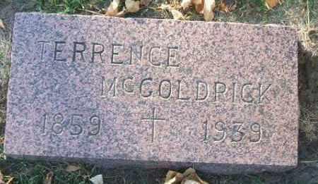 MCGOLDRICK, TERRENCE - Minnehaha County, South Dakota | TERRENCE MCGOLDRICK - South Dakota Gravestone Photos