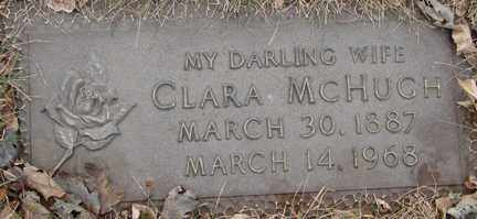 MCHUGH, CLARA - Minnehaha County, South Dakota | CLARA MCHUGH - South Dakota Gravestone Photos