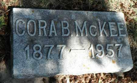 BALDWIN MCKEE, CORA - Minnehaha County, South Dakota   CORA BALDWIN MCKEE - South Dakota Gravestone Photos