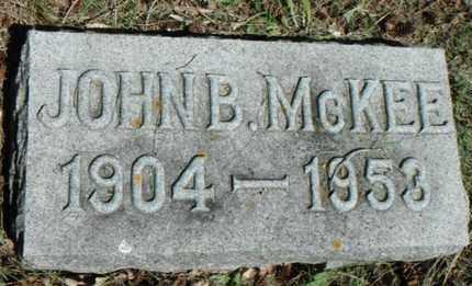MCKEE, JOHN B. - Minnehaha County, South Dakota | JOHN B. MCKEE - South Dakota Gravestone Photos