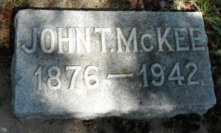 MCKEE, JOHN T. - Minnehaha County, South Dakota | JOHN T. MCKEE - South Dakota Gravestone Photos