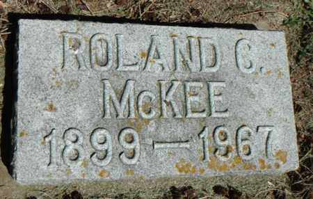 MCKEE, ROLAND CLAYTON - Minnehaha County, South Dakota | ROLAND CLAYTON MCKEE - South Dakota Gravestone Photos
