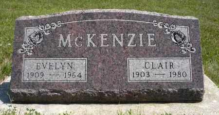 MCKENZIE, CLAIR - Minnehaha County, South Dakota   CLAIR MCKENZIE - South Dakota Gravestone Photos