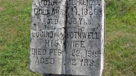 BOTHWELL MCKENZIE, LUCINDA M. - Minnehaha County, South Dakota | LUCINDA M. BOTHWELL MCKENZIE - South Dakota Gravestone Photos