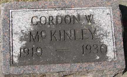 MCKINLEY, GORDON W. - Minnehaha County, South Dakota | GORDON W. MCKINLEY - South Dakota Gravestone Photos