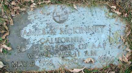 MCKINNEY, JAMES KENNETH - Minnehaha County, South Dakota   JAMES KENNETH MCKINNEY - South Dakota Gravestone Photos