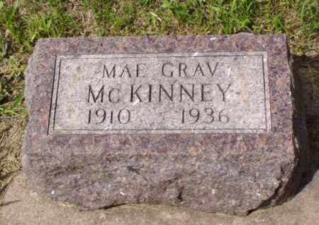 GRAV MCKINNEY, MAE - Minnehaha County, South Dakota | MAE GRAV MCKINNEY - South Dakota Gravestone Photos