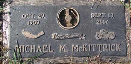 MCKITTRICK, MICHAEL M. - Minnehaha County, South Dakota | MICHAEL M. MCKITTRICK - South Dakota Gravestone Photos