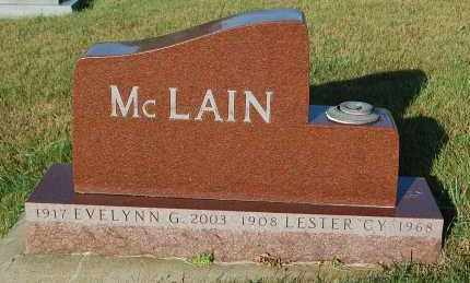 "MCLAIN, LESTER ""CY"" - Minnehaha County, South Dakota | LESTER ""CY"" MCLAIN - South Dakota Gravestone Photos"