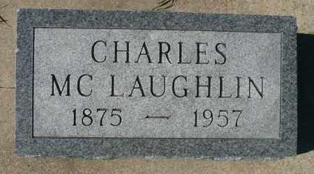MCLAUGHLIN, CHARLES - Minnehaha County, South Dakota | CHARLES MCLAUGHLIN - South Dakota Gravestone Photos