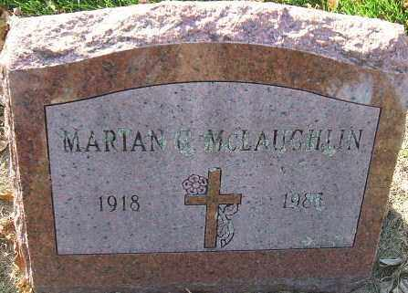 MCLAUGHLIN, MARIAN - Minnehaha County, South Dakota | MARIAN MCLAUGHLIN - South Dakota Gravestone Photos