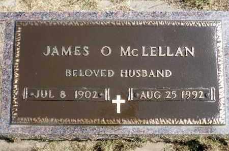 MCLELLAN, JAMES O. - Minnehaha County, South Dakota | JAMES O. MCLELLAN - South Dakota Gravestone Photos