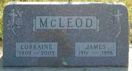 MCLEOD, JAMES - Minnehaha County, South Dakota | JAMES MCLEOD - South Dakota Gravestone Photos
