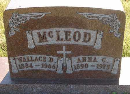 MCLEOD, ANNA C. - Minnehaha County, South Dakota | ANNA C. MCLEOD - South Dakota Gravestone Photos