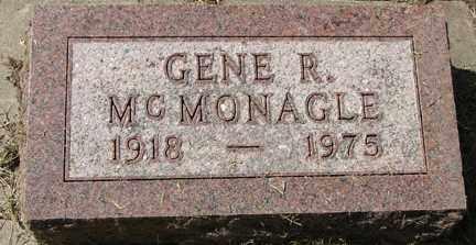MCMONAGLE, GENE R. - Minnehaha County, South Dakota | GENE R. MCMONAGLE - South Dakota Gravestone Photos
