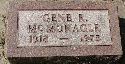 MCMONAGLE, GENE R. - Minnehaha County, South Dakota | GENE R. MCMONAGLE - South Dakota Gravestone Photos