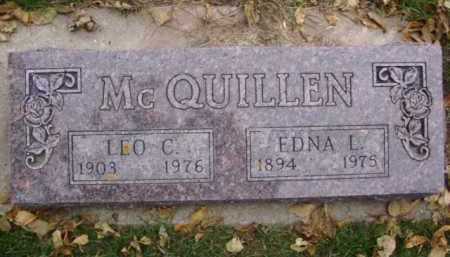MCQUILLEN, EDNA L. - Minnehaha County, South Dakota | EDNA L. MCQUILLEN - South Dakota Gravestone Photos