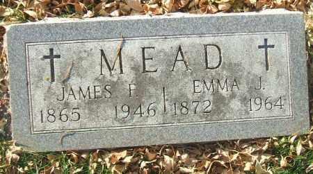 MEAD, JAMES F. - Minnehaha County, South Dakota | JAMES F. MEAD - South Dakota Gravestone Photos