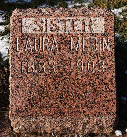 MEDIN, LAURA - Minnehaha County, South Dakota | LAURA MEDIN - South Dakota Gravestone Photos