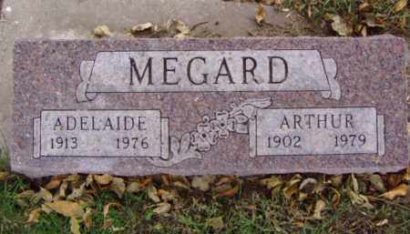 MEGARD, ARTHUR - Minnehaha County, South Dakota | ARTHUR MEGARD - South Dakota Gravestone Photos
