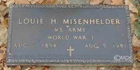 MEISENHELDER, LOUIE H. - Minnehaha County, South Dakota | LOUIE H. MEISENHELDER - South Dakota Gravestone Photos