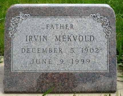 MEKVOLD, IRVIN - Minnehaha County, South Dakota   IRVIN MEKVOLD - South Dakota Gravestone Photos