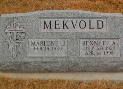 MEKVOLD, BENNETT A. - Minnehaha County, South Dakota | BENNETT A. MEKVOLD - South Dakota Gravestone Photos